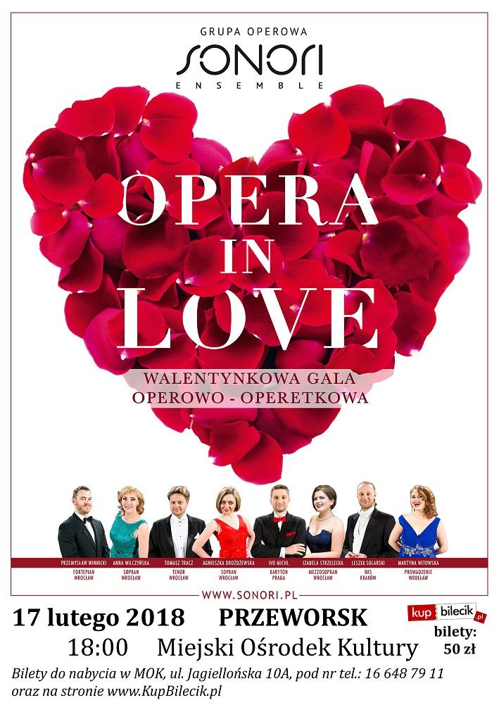 2018-02-17 plakat Opera in Love - Przeworsk