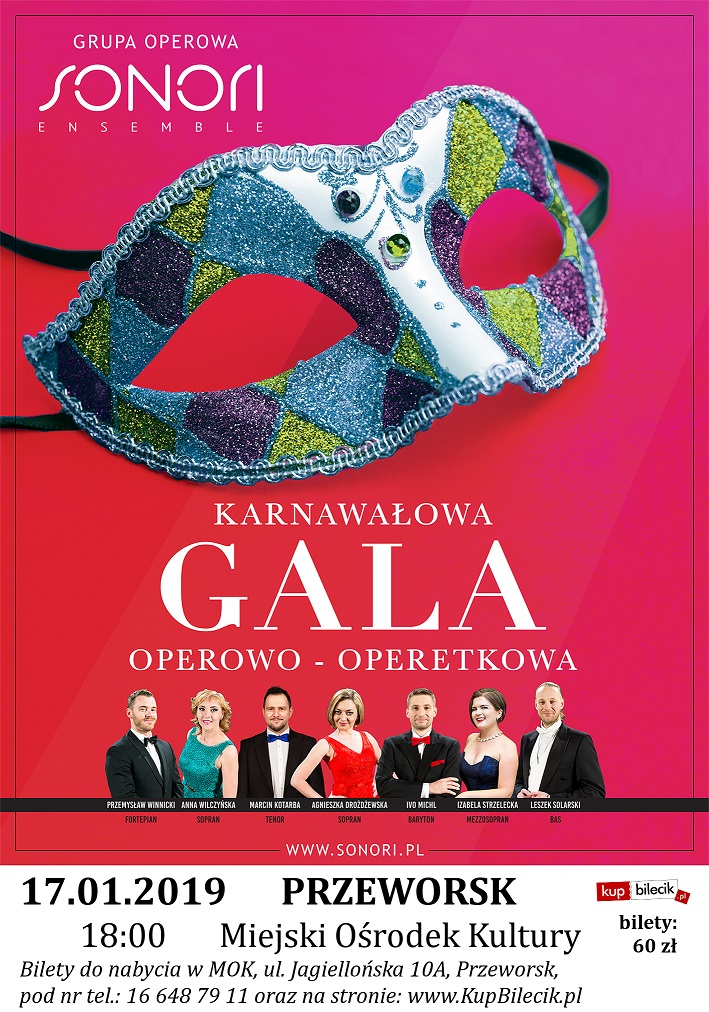 2019-01-17 plakat Karnawal - Przeworsk