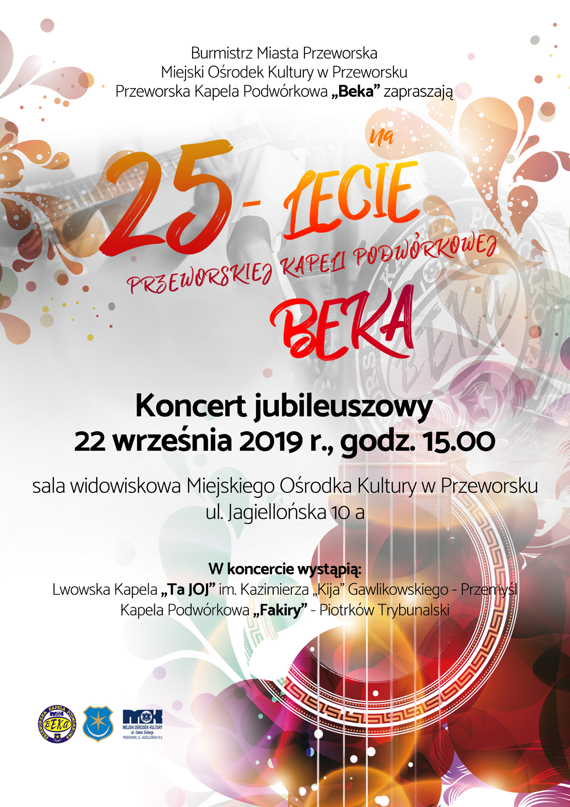 Beka 25 lecie plakat