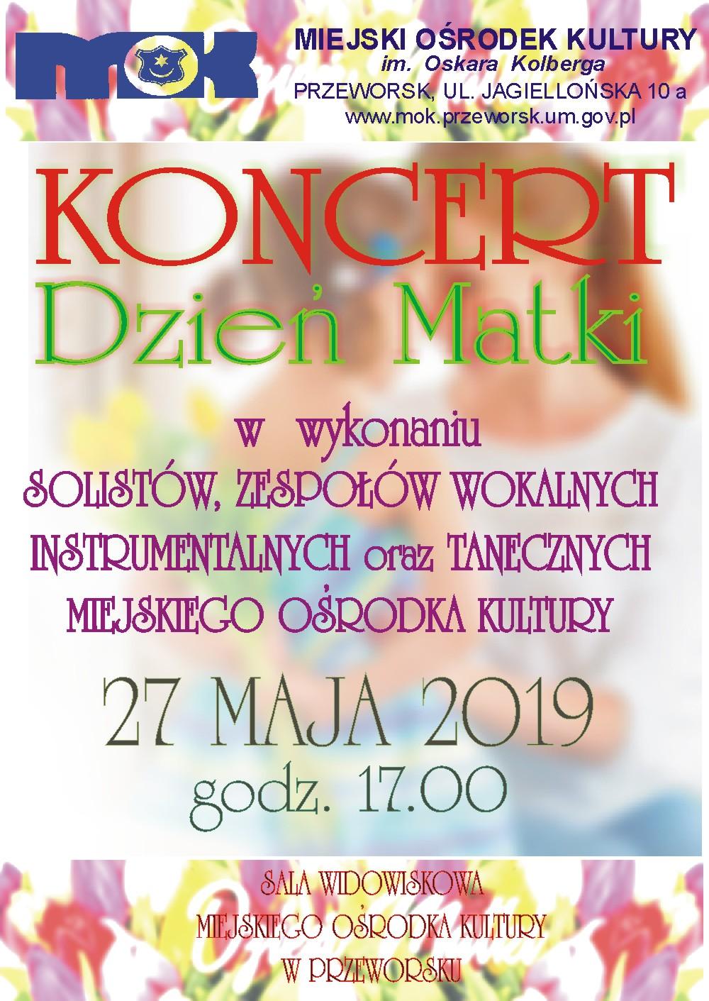 Koncert DZIEŃ MATKI 2019