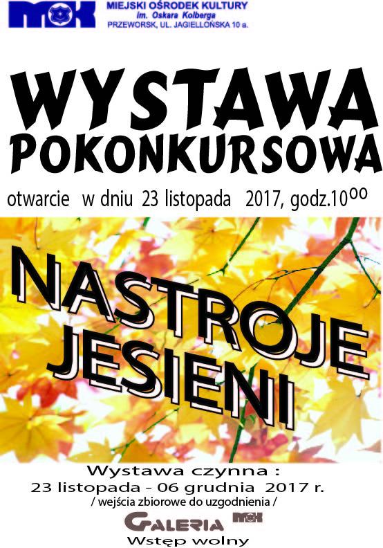 Nastroje jesieni 2017 plakat