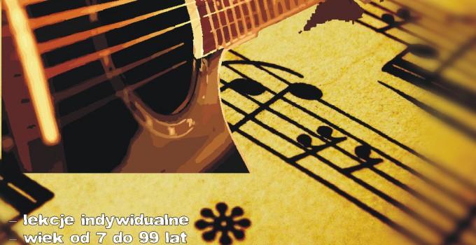 Zapisy – nauka gry na gitarze