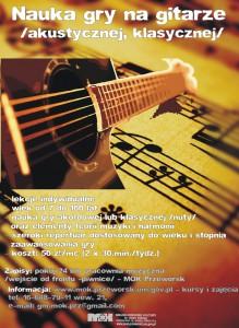 gitara afisz