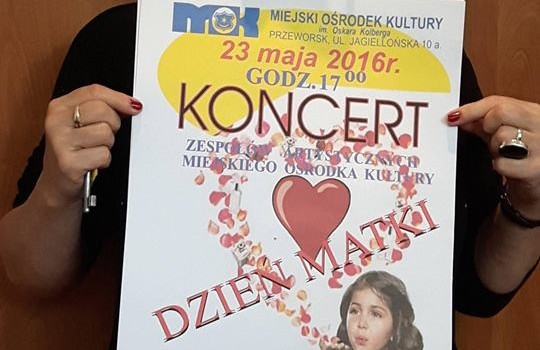 Koncert – Dzień Matki 2016