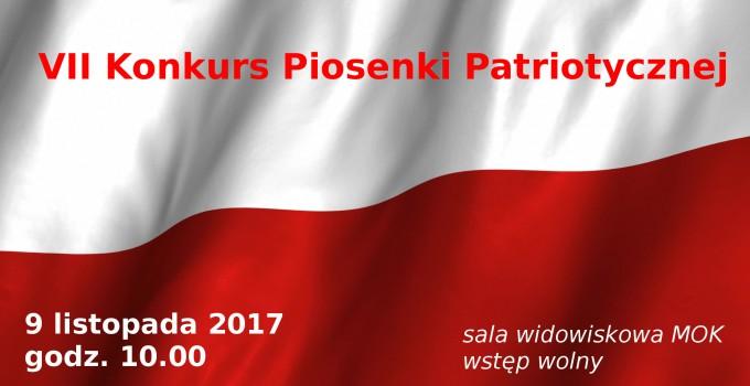 VII Konkurs Piosenki Patriotycznej 2017
