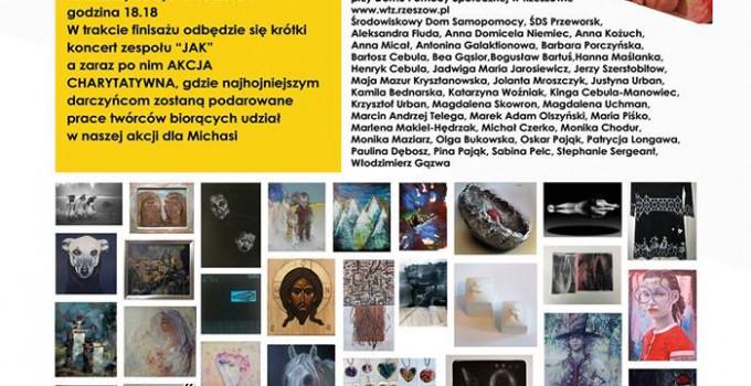 Galeria MOK – Artyści DLA MIŚKI Akcja charytatywna w MOK Przeworsk
