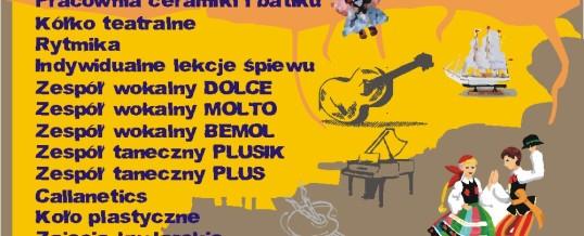 ZAPISY do kół zainteresowań MOK Przeworsk