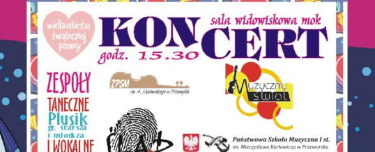 koncert 28 Finału WOŚP 2020