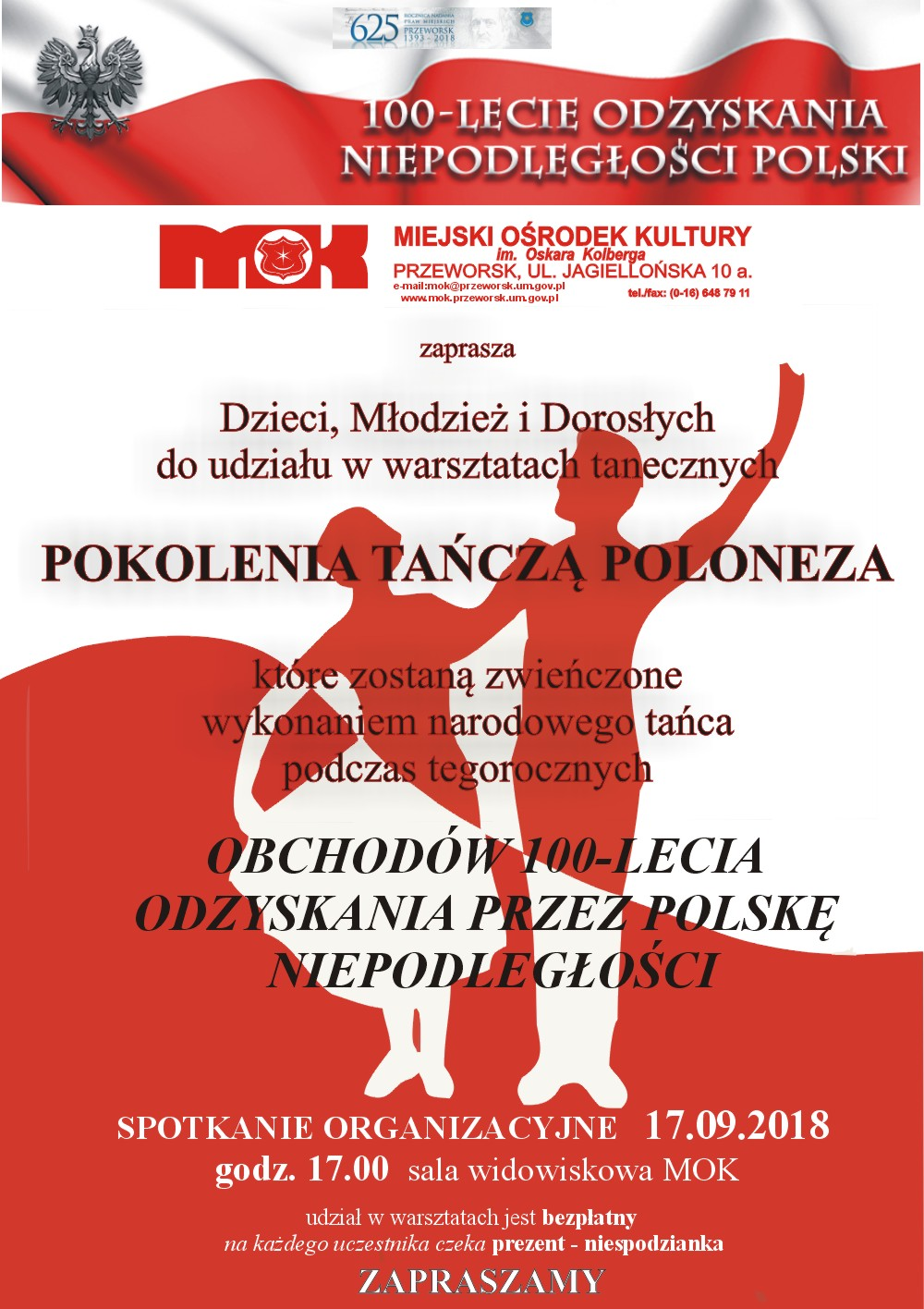 plakat - polonez