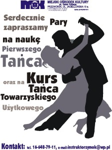 plakat taniec tow