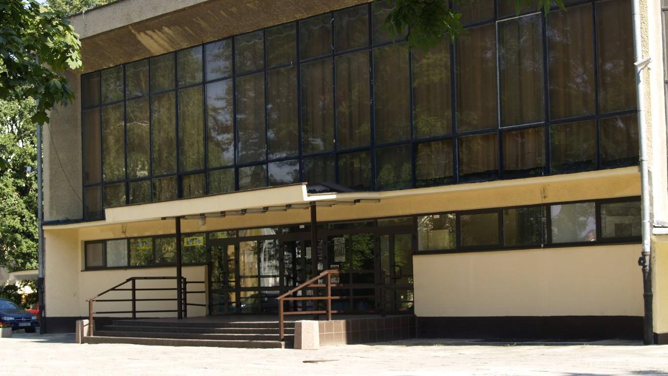 Miejski Ośrodek Kultury - front budynku